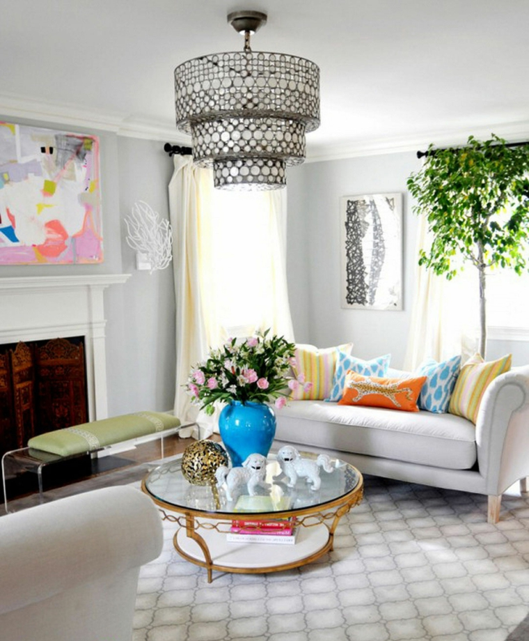 Ideas para decorar la sala de estar en primavera mujeres for Ideas para decorar la sala