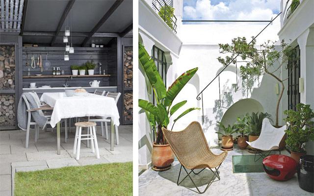 C mo decorar terrazas amplias y porches mujeres por sinaloa - Como decorar el porche de tu casa ...